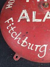 RARE FITCHBURG MASSACHUSETTS FIRE FIREMAN ALARM BOX Old Vintage
