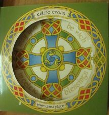"Irlanda Cruz Celta 8"" Bone China placa te puede ser rico en Celta bendiciones"