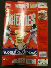 Wheaties box 1991 World Champions Puckett & Hrbek Opened Great Condition NOS