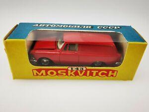 NOVOEXPORT MOSKVITCH 433 CCCP USSR URSS A5 1/43