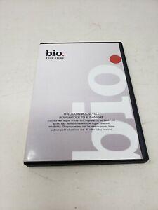 Bio True Stories Theodore Roosevelt Roughrider to Rushmore DVD 1995 History