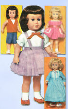 """5-Pattern Packs for 20"""" Chatty Cathy Doll"""