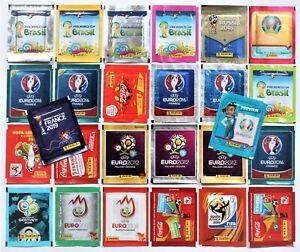 Panini WM EURO Tüten 2002 2006 2008 2010 2012 2014 2015 2016 2018 2019 2020