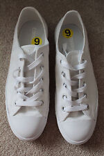 NEW CONVERSE SNEAKERS LOW-TOP WHITE SHINY sz US 9