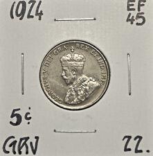 1924 Canada 5 Cent