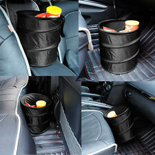 Car Dust Bin Storage Bucket Trash Can Container Pop Up Foldable Garbage Bag