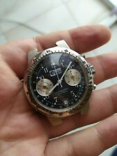 Vintage Watch Chronograph POLJOT 3133 PANDA DIAL *FOR REPAIR / NEED A SERVICE*