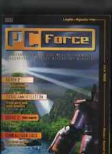 PC FORCE 5 1998 hexen2total annihilation,quake2tomb raider gold lara croft
