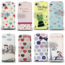 8 Design Graphic Prints Flip leather case for Samsung s3/s3 mini/s4 mini/s5 UK