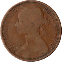 1891 ONE PENNY OF QUEEN VICTORIA      #WT525