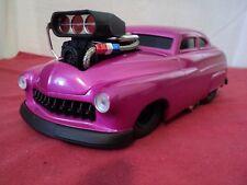 "Funline Muscle Machines custom Mercury Coupe 1/18 scale Used ""slammed"" magenta"