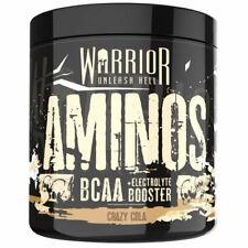 Warrior Warrior Aminos BCAA Powder 360G KRAZY COLA BBE: 10/20 A3 >