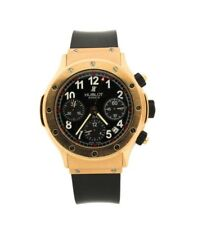 PRE-OWNED HUBLOT CLASSIC SUPER B 18K ROSE GOLD CHRONOGRAPH WATCH $25,0000 MSRP