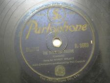 "MANDY MILLER WITH ORCHESTRA R 3669 INDIA INDIAN RARE 78 RPM RECORD 10"" VG-"