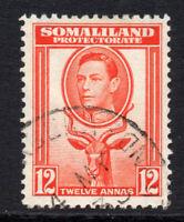 Somaliland 12 Anna c1938 Used  (1643)