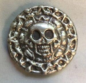 "50 gram 999 Silver Bullion ""Plata Muerta"" (Dead Silver) by YPS (Antique Finish)"
