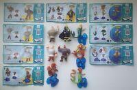 Série surprise Kinder. Les Trois Bogatyrs SD355-SD362 + 8 BPZ