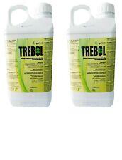 Nouvelle annonce Désherbant Glyphosat TREBOL (TRÉFLE) 2x5L sel d'isopropylamine 36%p/v 360 g/l