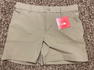 NWT The North Face Girls 'Parker Shorts' Flax Tan Size M (10-12)