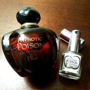 10ml 1/3 OUNCE SAMPLE ONLY! Dior Hypnotic Poison Eau de Parfum EDP Travel Spray