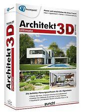 Architekt 3D Ultimate X9 Win CD/DVD Haus Appartment Garten 19 EAN 4023126118714