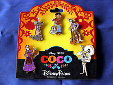 Disney * COCO - MOVIE CHARACTERS * New in Package 5 Pin BOOSTER Set