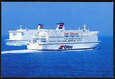 Postcard (official): Olau Ferry Line OLAU HOLLANDIA & OLAU BRITANNIA - mint