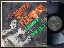SARITA & CO. Flamenco Singing & Dancing LP WORLD PACIFIC WP-1282 US 1959 DG MONO