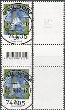 Hasenglöckchen 20 Cent - Paar, EAN-Code (200er-Rolle) - gestempelt - Mi.Nr. 3315