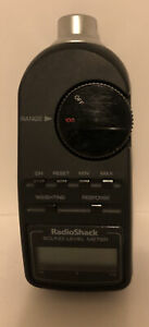 Radio Shack Digital Sound Level Meter Tester 33-2055 Tested And Working!!