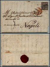 PONTIFICIO - 5 bai (6a) - Lettera Roma->Napoli 20.5.1859