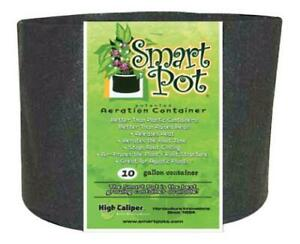 10 Gallon Black Smart Pot with Handles 1 / 5 / 10 Pack Fabric Grow Container NEW