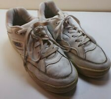 Women's SFC Shoes For Crews Leather White Sneakers Tennis Shoes Size 7