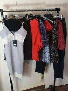 Womens Ladies Clothes Bundle Size 14 Trousers Shirt Mini Dress Top Blouse N6