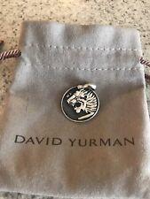 Petrvs Lion Amulet Pendant 26mm David Yurman Sterling Silver Men's