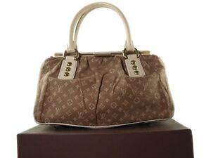 LOUIS VUITTON TRAPEZE PM Camel Monogram, Leather Mini Hand Bag LH6117L