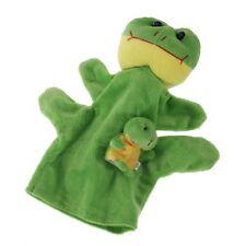 Green Frog Hand Puppet Finger Puppets