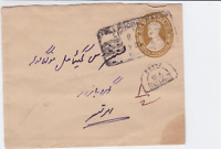 india 1942  unpaid  stamps cover ref r14536