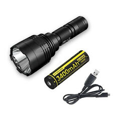 Nitecore P30 1000Lm LED Flashlight w/NL1834R Battery & USB Cord