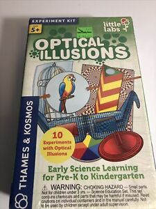 Optical Illusions Early Science Learning Kit By Thames & Kosmos