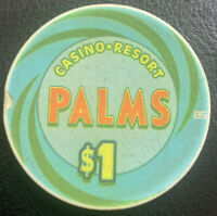 $1 Casino Chip - Palms Hotel And Casino - Las Vegas NV Nevada