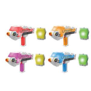 Laser X Revolution 4 Blaster Laser Tag Toy Game 4 Player Set