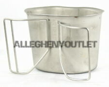 MINT USGI Canteen Cup -- Stainless Steel -- Genuine US Military Issue LN