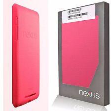 Estuche/cubierta para viaje completo color rosa genuino oficial Asus Google Nexus 7 (2012)