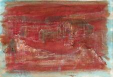 DOROTHY KIRKBRIDE Oil Painting On Paper ABSTRACT STUDY FOR INLAND SEA 1980