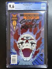 Ghost Rider Newsstand Variant V2 #50 94 Die Cut Red Foil CGC 9.6 COLLECTOR'S Ed.