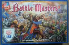 Battle Masters The Epic Game of Fantasy Battles by Milton Bradley. Never Played