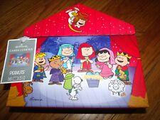 Hallmark Christmas Cards Peanuts Nativity 3D Keepsake Collectible Box of 16