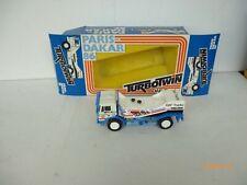 LION CAR// LION TOYS 1:50 DAF TURBO TWIN PARIS DAKAR TRUCK  1986!!  NM BOX
