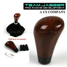 FOR JDM CARS! M12 M8 M10 THREAD!USA LUXURY WALNUT WOOD MANUAL GEAR SHIFT KNOB